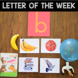 Letter of the Week - Letter B Preschool Unit