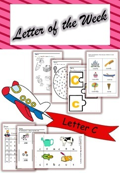 Letter of the Week - 'C'