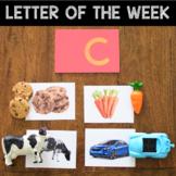 Letter of the Week - Letter C Preschool Unit