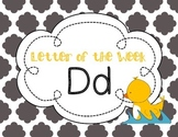 Letter of the Week: Letter D