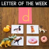 Letter of the Week - Letter D Preschool Unit
