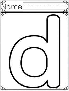 Letter of the Week ~ Letter D  ~ Set 1