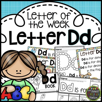 Letter of the Week {Letter Dd}