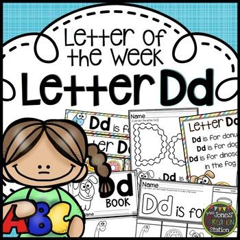 Letter of the Week {Letter Dd}