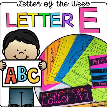 Letter of the Week - Letter E