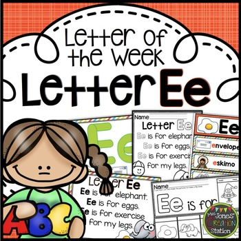 Letter of the Week {Letter Ee}