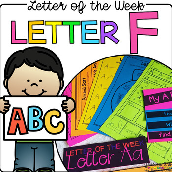 Letter of the Week - Letter F