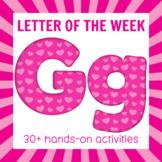 Letter of the Week - Letter G Preschool Unit