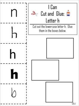 Letter of the Week ~ Letter H  ~ Set 1