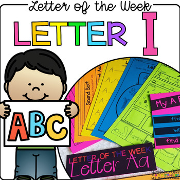 Letter of the Week - Letter I