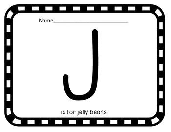 Letter of the Week: Letter J