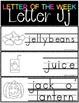 Letter of the Week - Letter J