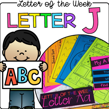 Letter of the Week - Letter J