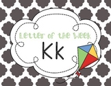 Letter of the Week: Letter K