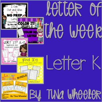 Letter of the Week ~ Letter K  ~ Set 1