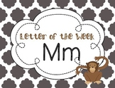 Letter of the Week: Letter M