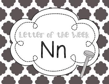 Letter of the Week: Letter N