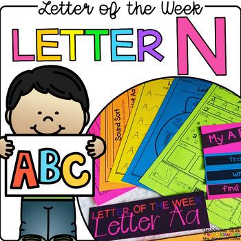 Letter of the Week - Letter N