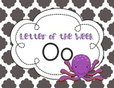 Letter of the Week: Letter O
