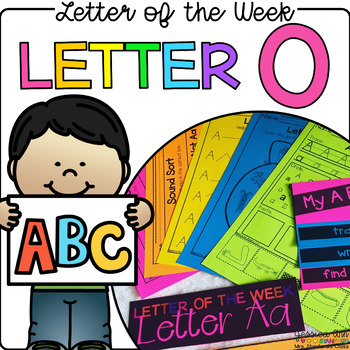 Letter of the Week - Letter O