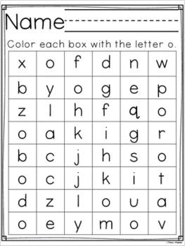 Letter of the Week ~ Letter O  ~ Set 1