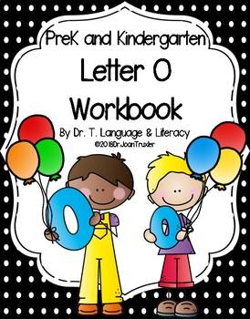 Letter of the Week:  Letter O Workbook (PreK & Kindergarten)