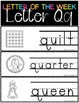 Letter of the Week - Letter Q
