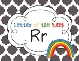 Letter of the Week: Letter R