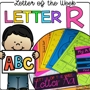Letter of the Week - Letter R
