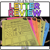 Letter of the Week - Letter Review