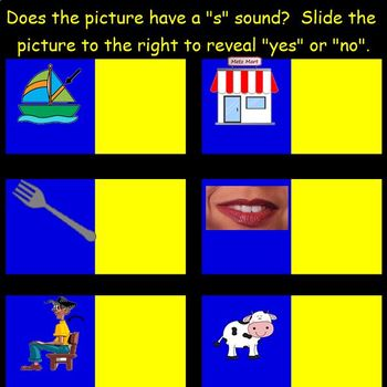 Letter of the Week: Letter S:  A SMART Board Resource