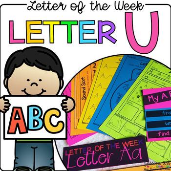 Letter of the Week - Letter U