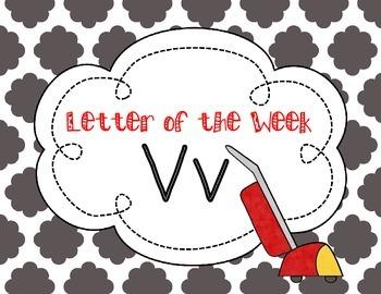 Letter of the Week: Letter V