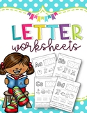 Letter of the Week: Letter Worksheets