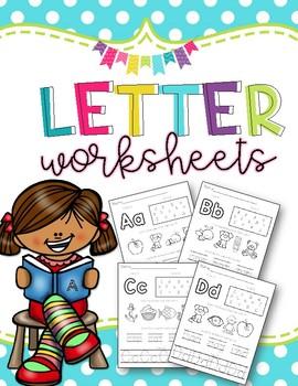 Letter of the Week: Letter Worksheets