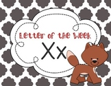 Letter of the Week: Letter X