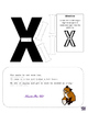 Letter of the Week Letter X