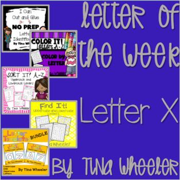 Letter of the Week ~ Letter X ~ Set 1