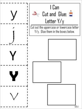 Letter of the Week ~ Letter Y ~ Set 1