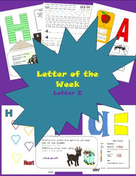 Letter of the Week Letter Z