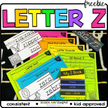 Letter of the Week - Letter Z