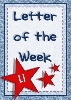 Alphabet Activities Letter Ll