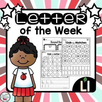 Letter of the Week - Ll