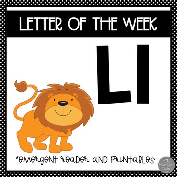 Letter of the Week ❤️ L Emergent Reader and Literacy Materials