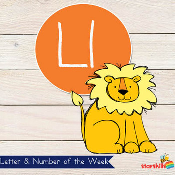 Letter of the Week Ll Workbook