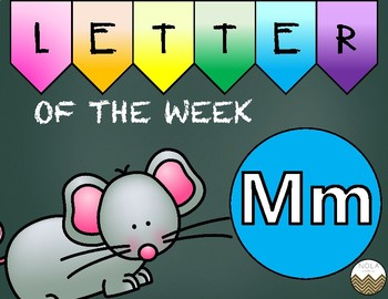 Letter of the Week -M- Activity Pack