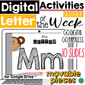 Letter of the Week M DIGITAL