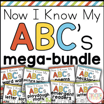 Letter of the Week MEGA PACK  {Now I Know My ABC's Bundle}