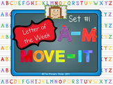 Letter of the Week MOVE IT - Set 1 A-M