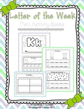 Letter of the Week - Mini Activity Books!